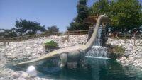 Dino golf brachiosaurus