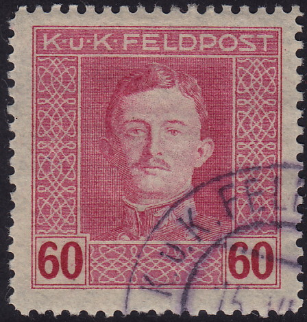 Austria 1917-1918 Emperor Karl I (Military Stamps) n.jpg