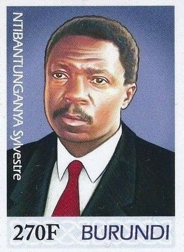 Burundi 2012 Presidents of Burundi - Sylvestre Ntibantunganya a.jpg