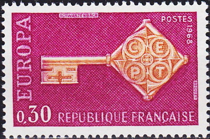 France 1968 EUROPA