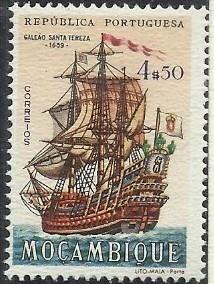 Mozambique 1963 Development of Sailing Ships k.jpg