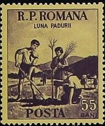 Romania 1954 Month of the Forest b.jpg