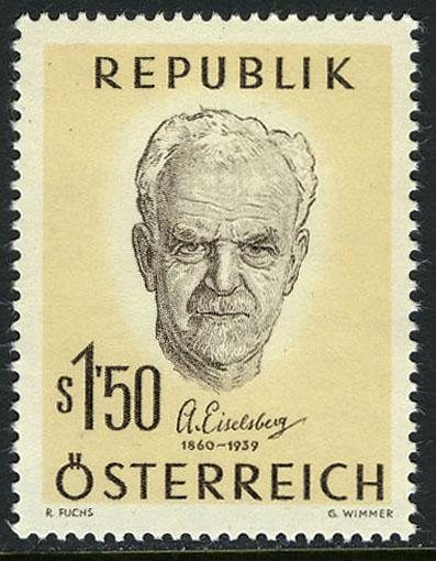 Austria 1960 Birth Centenary of Anton Eiselsberg, Surgeon a.jpg