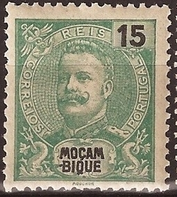 Mozambique 1903 D. Carlos I - New Values and Colors
