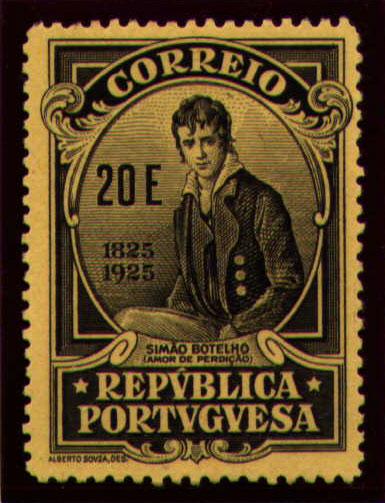 Portugal 1925 Birth Centenary of Camilo Castelo Branco ae.jpg