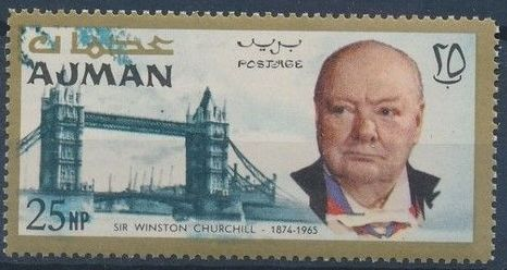 Ajman 1966 Winston Churchill