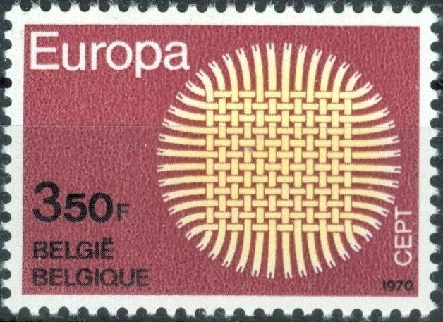 Belgium 1970 Europa