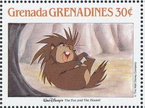 Grenada Grenadines 1988 The Disney Animal Stories in Postage Stamps 2g.jpg