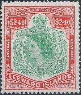 Leeward Islands 1954 Queen Elizabeth II n.jpg