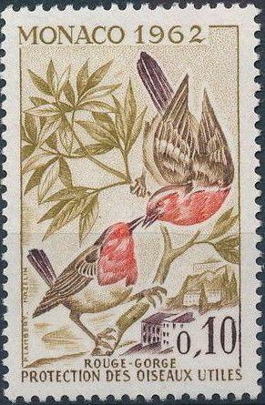 Monaco 1962 Protection of Useful Birds b.jpg
