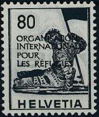 Switzerland 1950 Landscapes and Technology Official Stamps for The International Organization for Refugees i.jpg