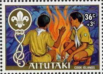 Aitutaki 1983 75th Anniversary of Scouting (Semi-Postal Stamps)