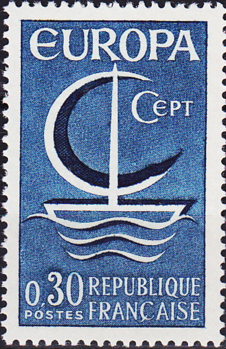 France 1966 EUROPA