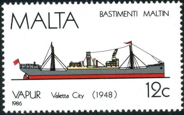 Malta 1986 Maltese Ships (4th Series) c.jpg