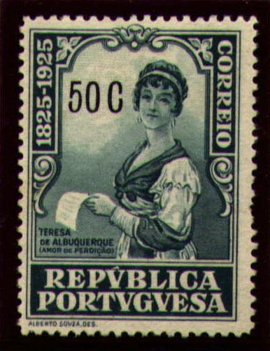 Portugal 1925 Birth Centenary of Camilo Castelo Branco p.jpg