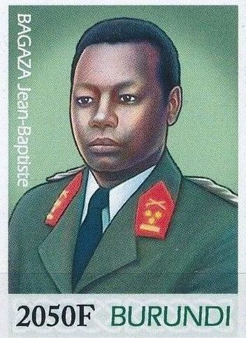 Burundi 2012 Presidents of Burundi - Jean-Baptiste Bagaza j.jpg