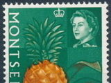 Montserrat 1965 Fruit & Vegetables and Portrait of Queen Elizabeth II