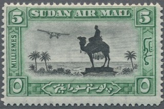 Sudan 1931 Statue of Gen (I) - Air Post Stamps a.jpg