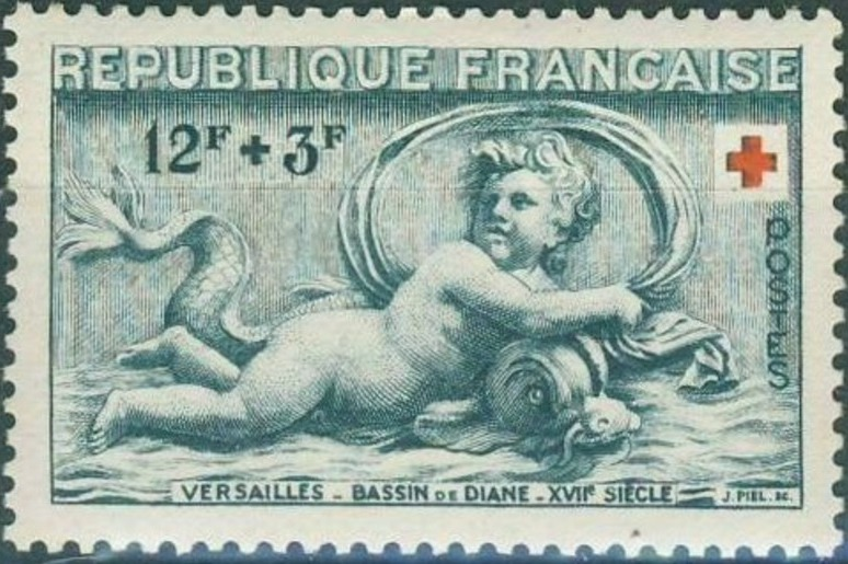 France 1952 Surtax for the Red Cross