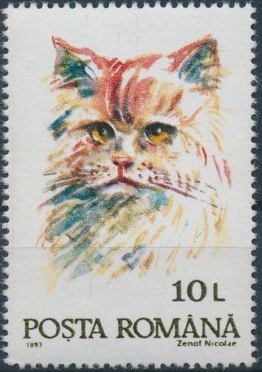 Romania 1993 Cats