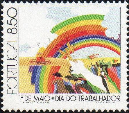 Portugal 1981 International Workers' Day