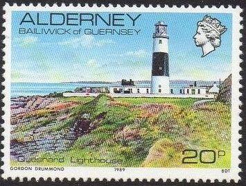 Alderney 1989 Island Scenes