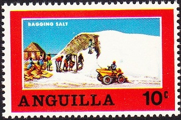 Anguilla 1969 Salt Industry