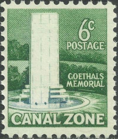 Canal Zone 1968 Goethals Memorial, Balboa