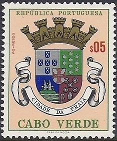 Cape Verde 1961 Arms of Towns of Cape Verde a.jpg