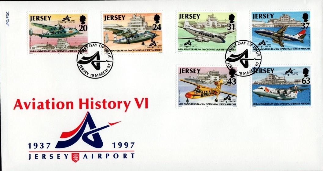 Jersey 1997 Aviation History VI