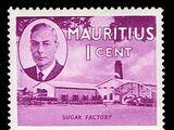 Mauritius 1950 Definitives