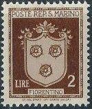 San Marino 1945 Coat of Arms h.jpg