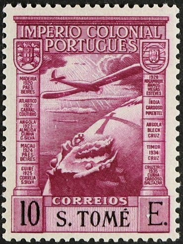St Thomas and Prince 1938 Portuguese Colonial Empire (Airmail Stamps) i.jpg
