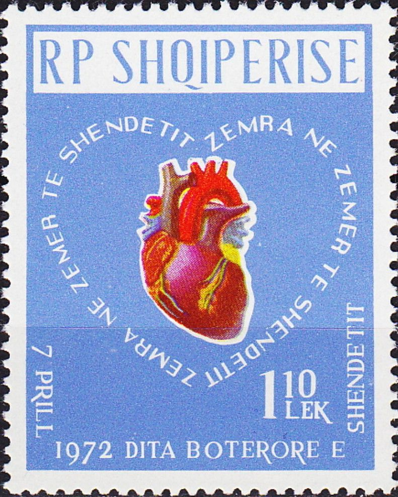 Albania 1972 World Health Day