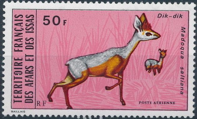 French Territory of the Afars and the Issas 1973 Wildlife b.jpg