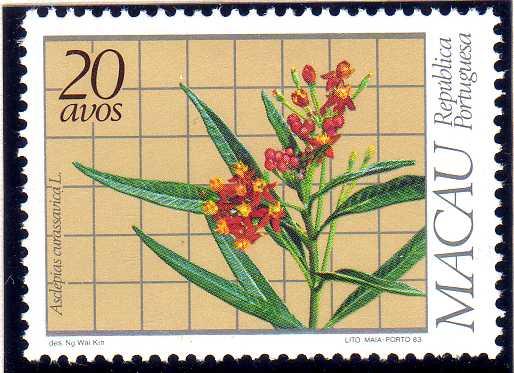 Macao 1983 Local Medicinal Plants