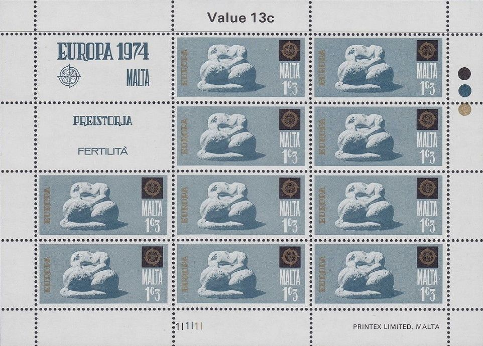 Malta 1974 Europa