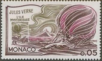 Monaco 1978 Birth Sesquicentennial of Jules Verne