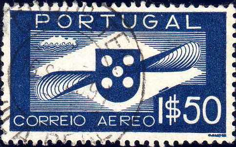 Portugal 1936 Symbol of Aviation (Air Post Stamps)