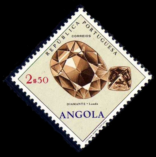 Angola 1970 Fossils and Minerals from Angola e.jpg