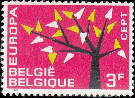 Belgium 1962 Europa