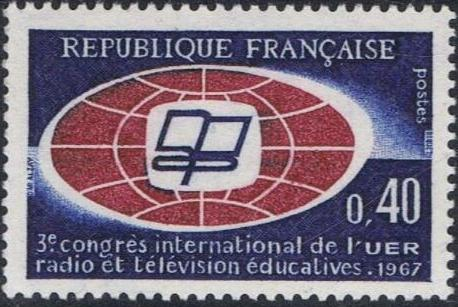 France 1967 3rd International Congress of the European Broadcasting Union