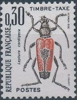 France 1983 Insects - Postage Due Stamps (2nd Issue)