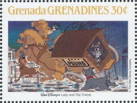 Grenada Grenadines 1988 The Disney Animal Stories in Postage Stamps 5i.jpg
