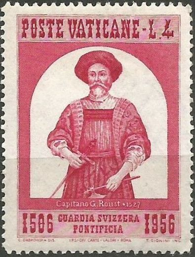Vatican City 1956 450th Anniversary of the Swiss Papal Guard a.jpg
