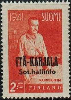Eastern Karelia 1942 Marshal Mannerheim Overprinted c.jpg