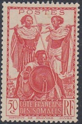 French Somali Coast 1938 Definitives k.jpg