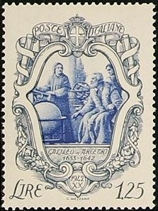 Italy 1942 3rd Centenary of the Death of Galileo Galilei d.jpg