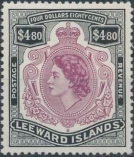 Leeward Islands 1954 Queen Elizabeth II o.jpg