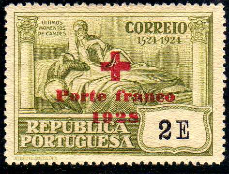 Portugal 1928 Red Cross - 400th Birth Anniversary of Camões f.jpg